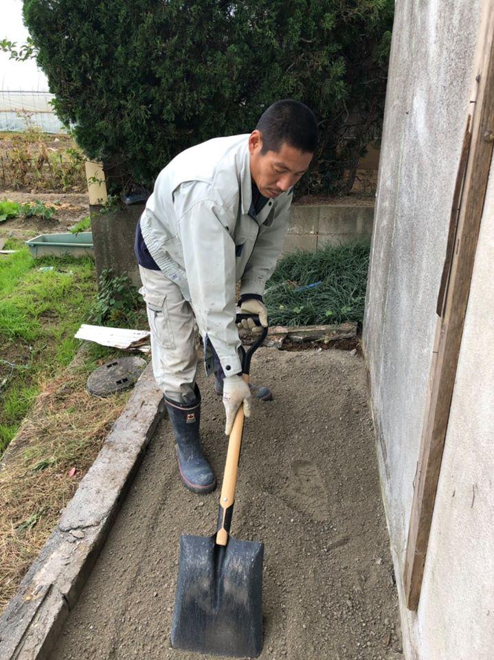 和泉市H倉庫 土間復旧工事