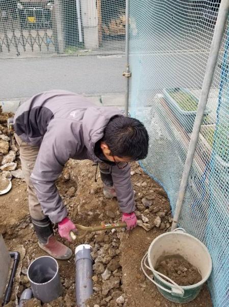 堺市H様 新築配管工事