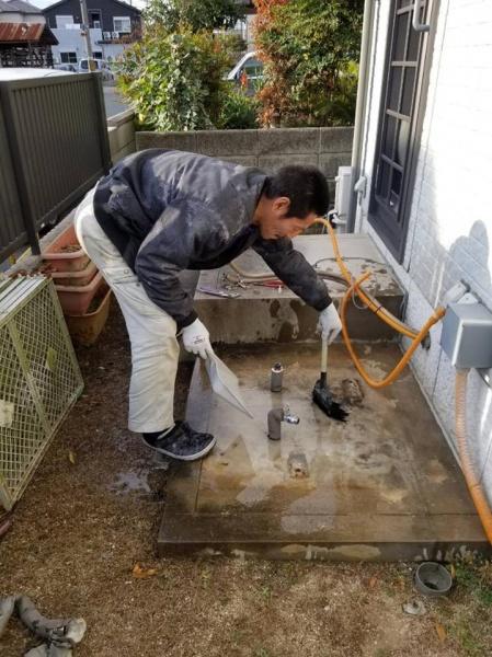 和泉市N様 電気温水器取替工事
