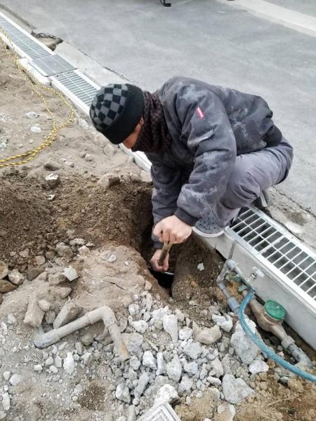 堺市K様より水道メーター移設工事のご依頼