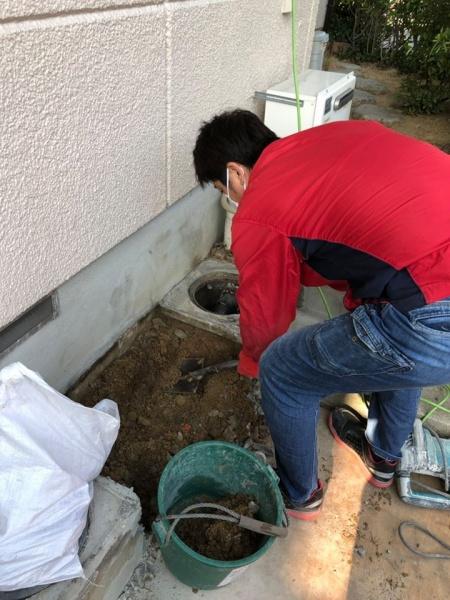 排水管修繕工事のご依頼