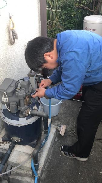 井戸ポンプ修理のご依頼