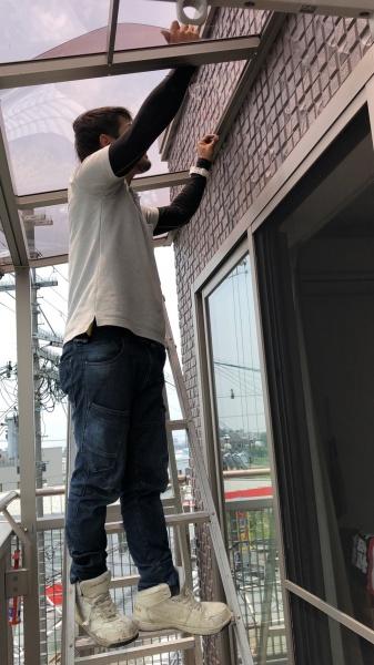 テラス屋根張替工事のご依頼
