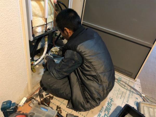 電気温水器取替工事のご依頼