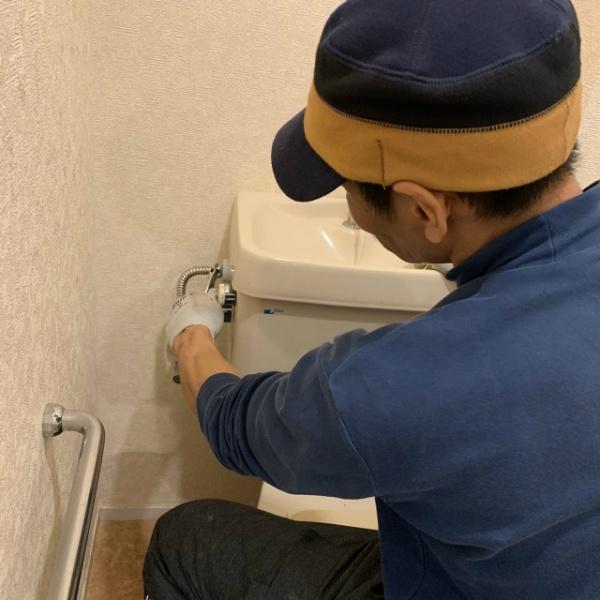 トイレタンク修理のご依頼