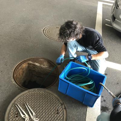 排水管詰まり修理 高圧洗浄機使用のご依頼