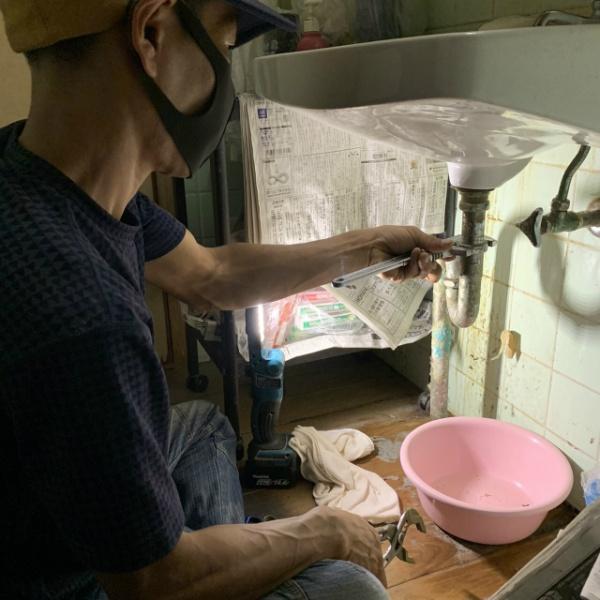 排水管修理のご依頼