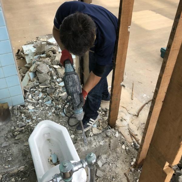 トイレ解体工事のご依頼