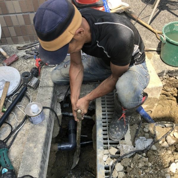 給水管漏水修理のご依頼