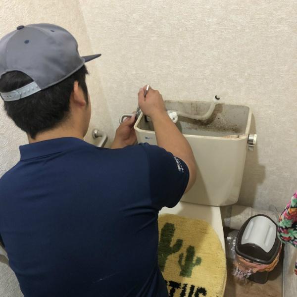 トイレタンク修理工事のご依頼