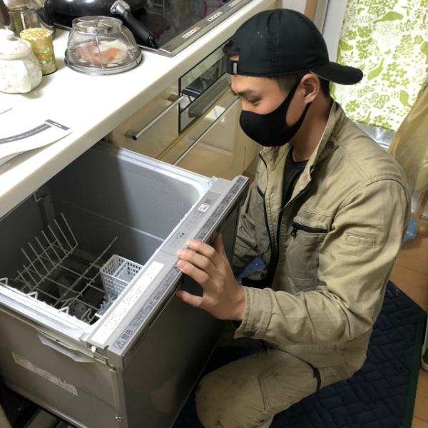 食洗機取替工事のご依頼