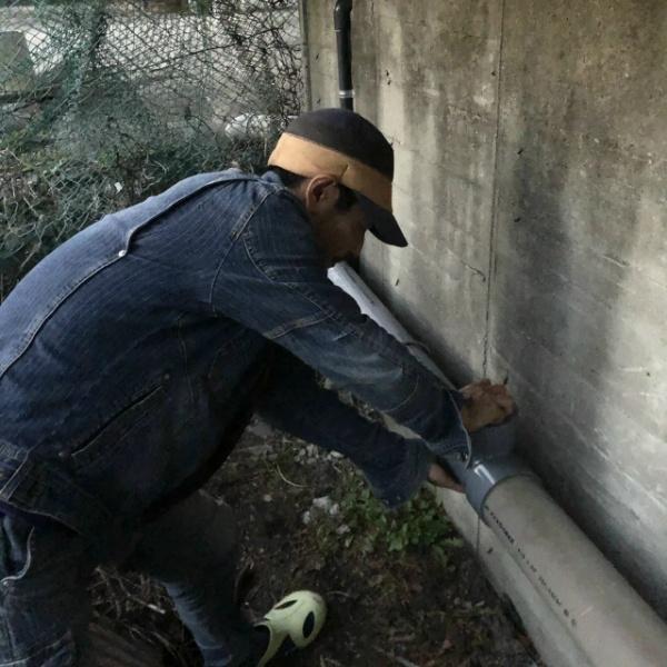 排水管修理工事のご依頼