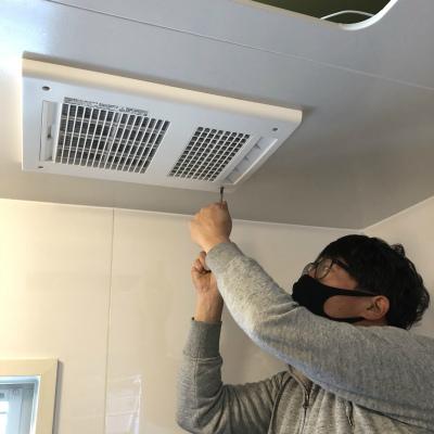 浴室換気暖房乾燥機取付工事のご依頼