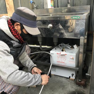 小型電気温水器設置工事のご依頼