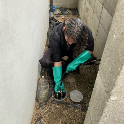 排水管詰まり修理(高圧洗浄機使用)のご依頼