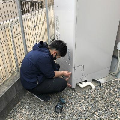 電気温水器設置工事のご依頼