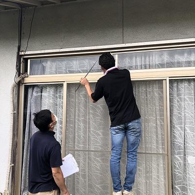 窓ガラス入れ替え工事のご依頼