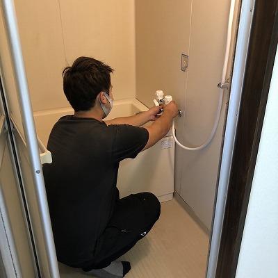 浴室水栓取替工事のご依頼